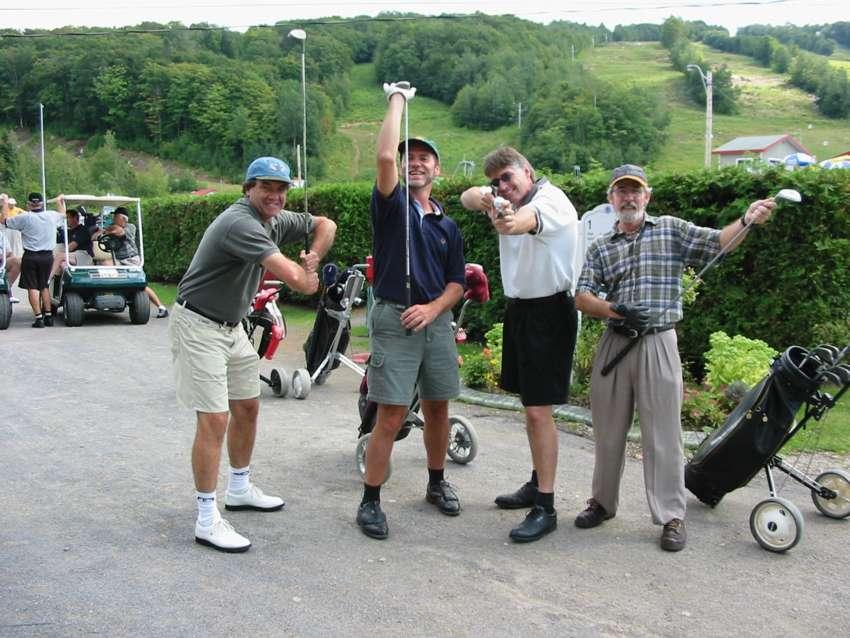 Tournoi de golf de la Fondation Conrad-Bélanger Édition 2001