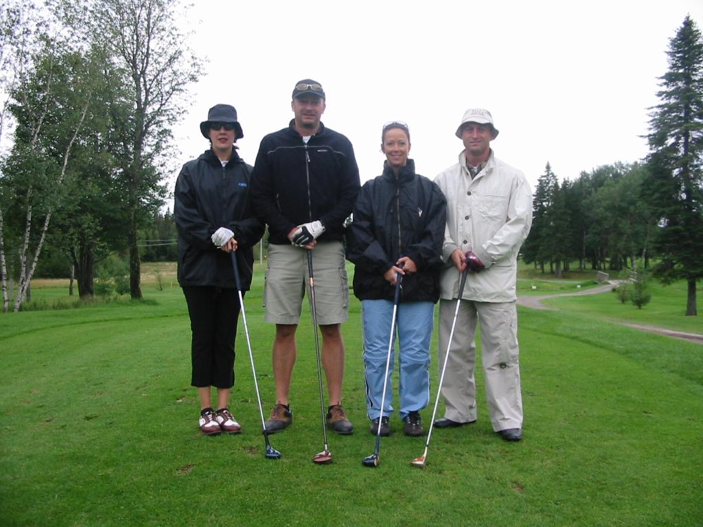 Tournoi de golf de la fondation 25 août 2003