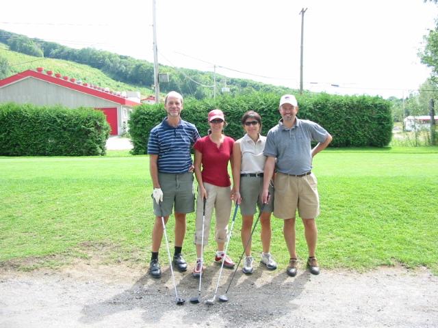 Tournoi de golf de la fondation du 22 août 2005