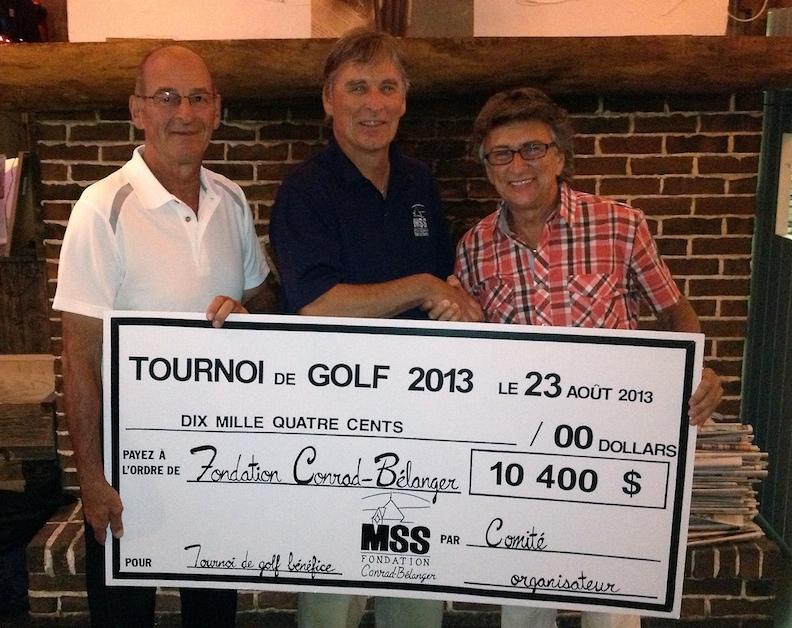 Tournoi de golf de la fondation 2013
