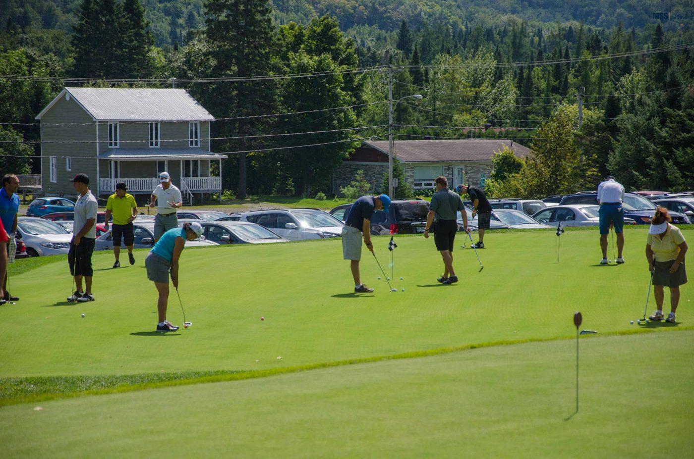 Tournoi de golf de la Fondation Conrad Bélanger de 2014