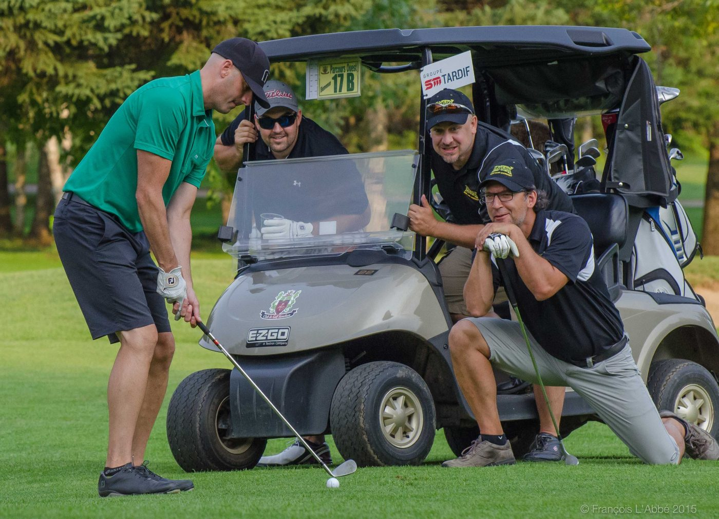 Tournoi de golf de la fondation, édition 2015