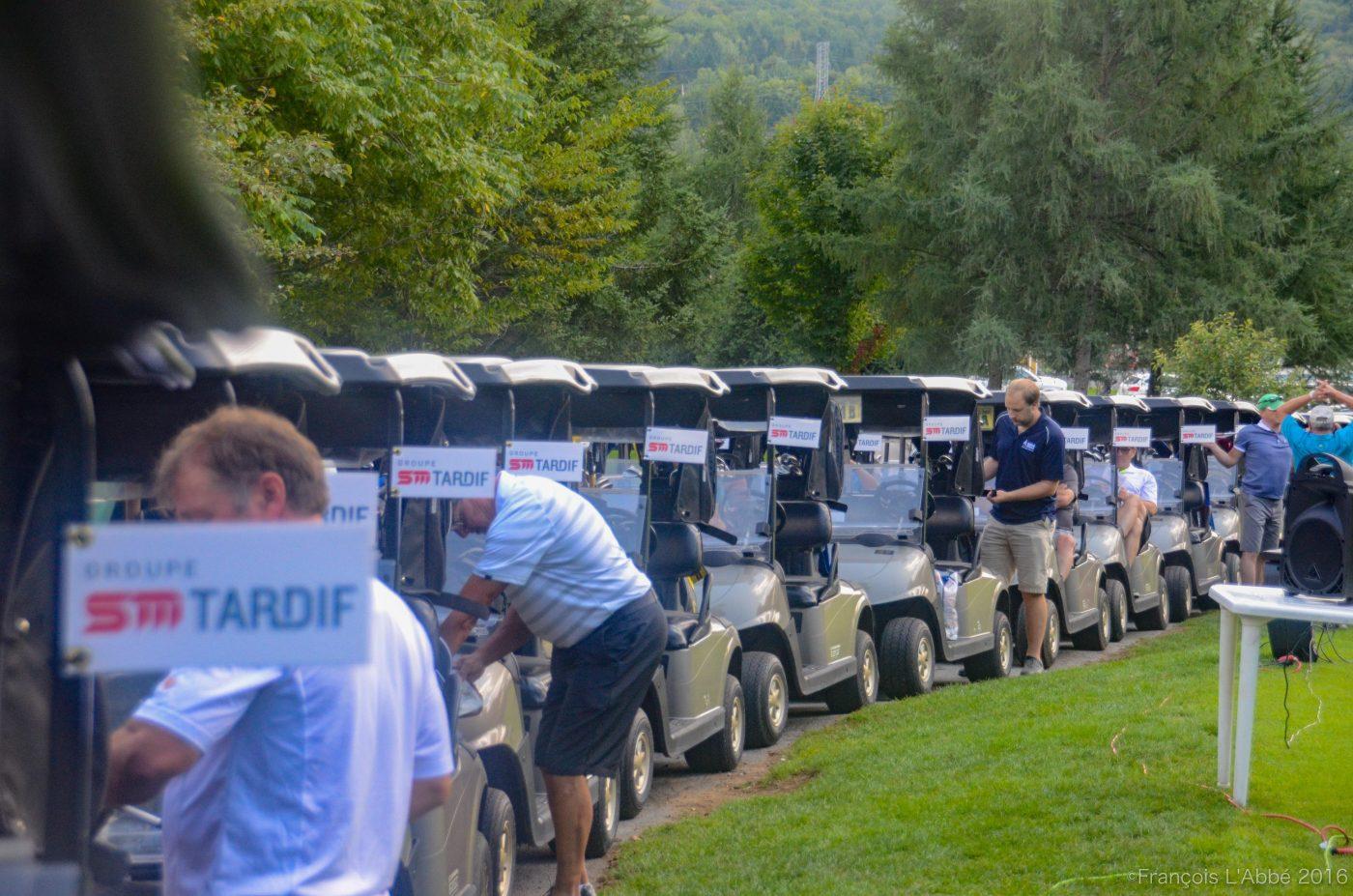 Tournoi de golf de la fondation, édition 2016