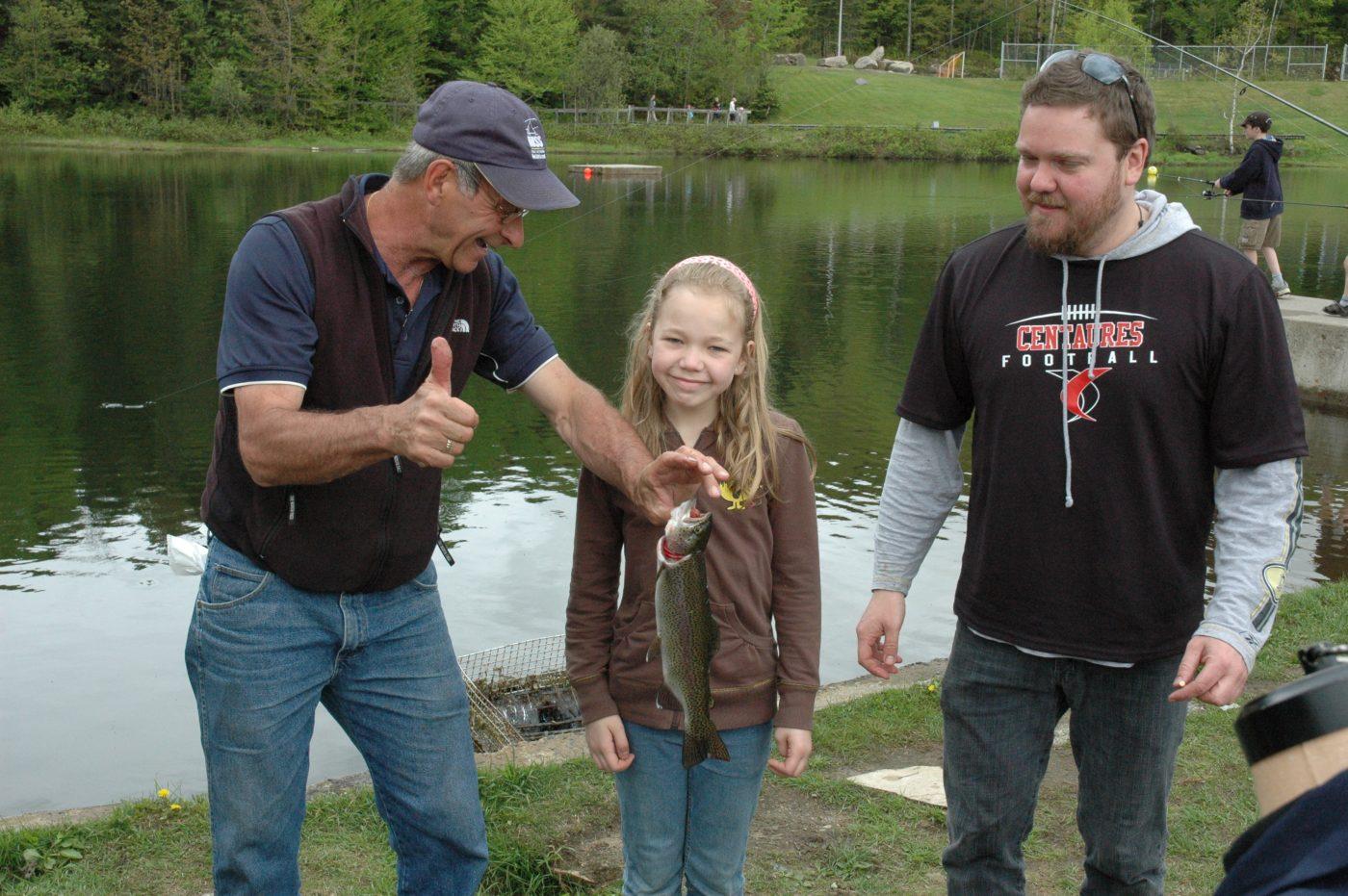 Tournoi de pêche de la fondation 2009